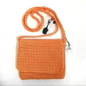The Sac Small Crochet Crossbody Bag